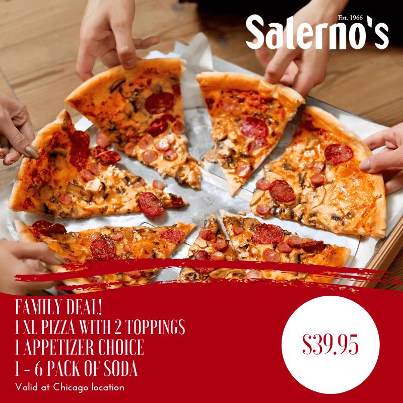 Salernos Pizza of Chicago - Salerno's Pizza